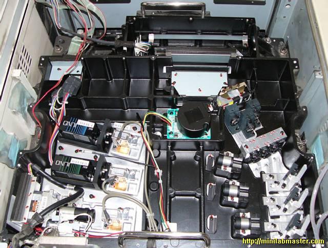 Noritsu Laser Unit Cleaning Noritsu Minilab Laser