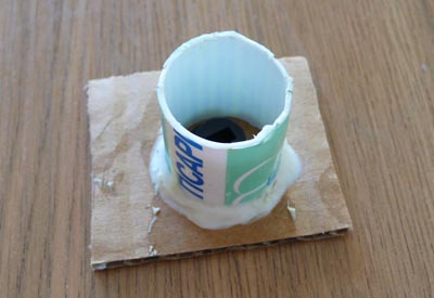 Опалубка для отливки силиконовой формы для изготовления копии пластиковой детали